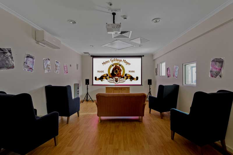 Doutta Galla Avondale - cinema and media room