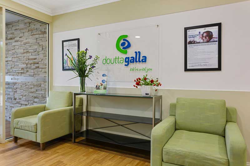 Doutta Galla Footscray - reception area