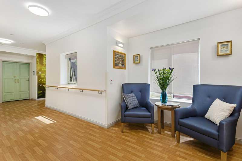 Doutta Galla Footscray - nice sitting area in hallway