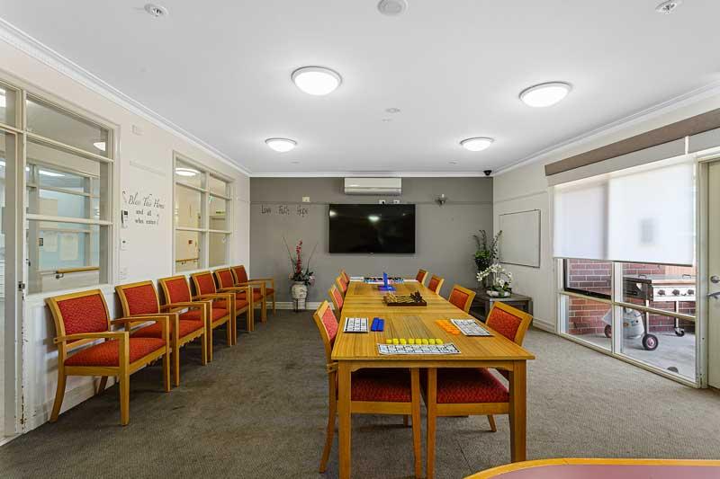 Doutta Galla Grantham Green - craft and multipurpose room
