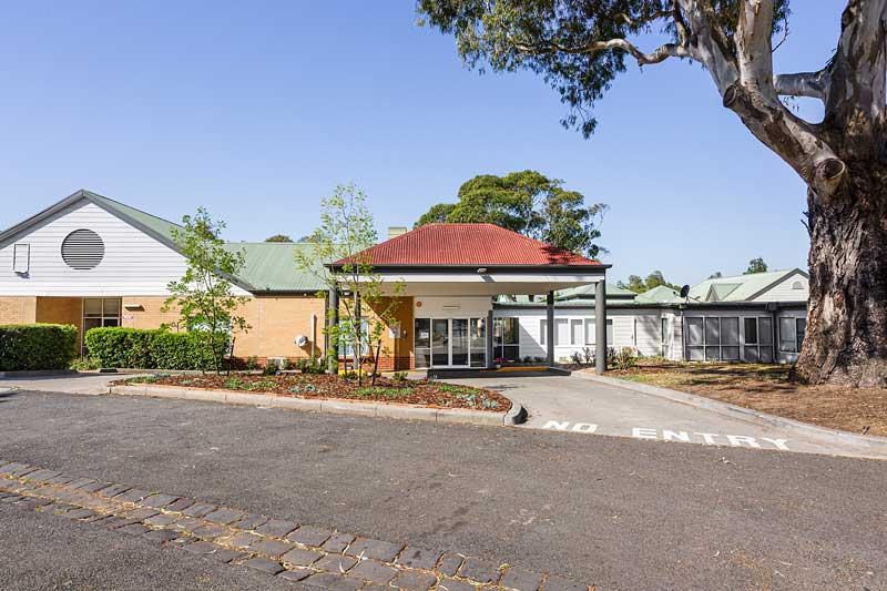 Doutta Galla Lynch's Bridge - driveway and entrance to reception and facility