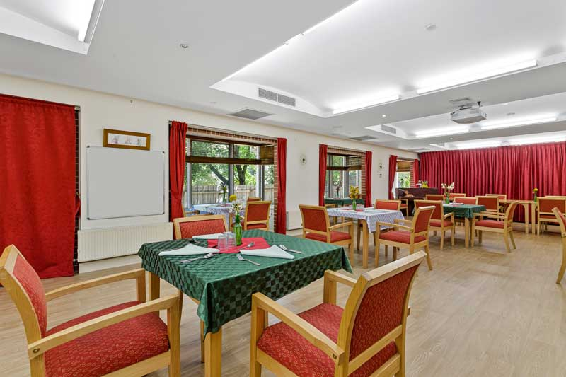 Doutta Galla Queens Park aged care - dining room