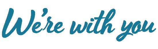 Doutta Galla tagline - We're with you